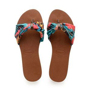 Havainas You St. TropezFlip Flops Rust